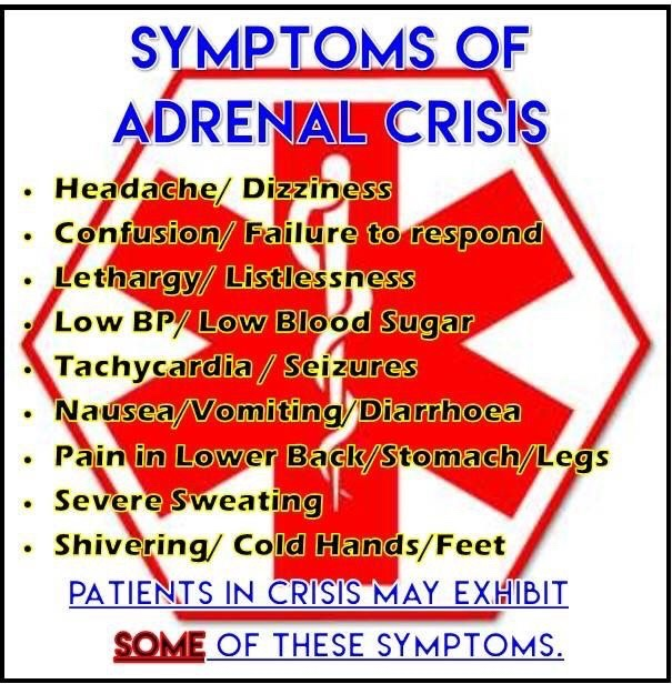 Top 5 Tips To Avoid An Adrenal Crisis…And What To Do If You Are In One